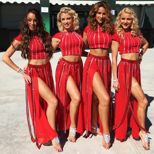 Entertainment at the Dubai Sevens (4)