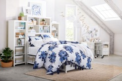 bluebell rose duvet