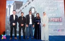 Casey, Director Sachin Ramdas, Sukhbir, Zenofer and HH Sheikha Hend
